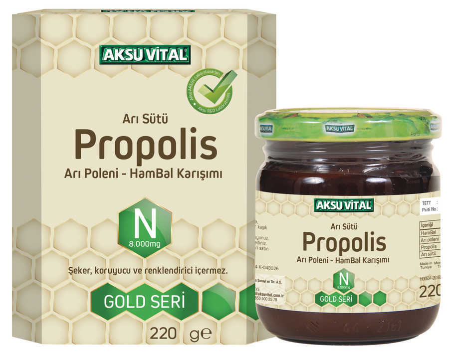 Aks Vital Propolis N(8.000Mg) 220G