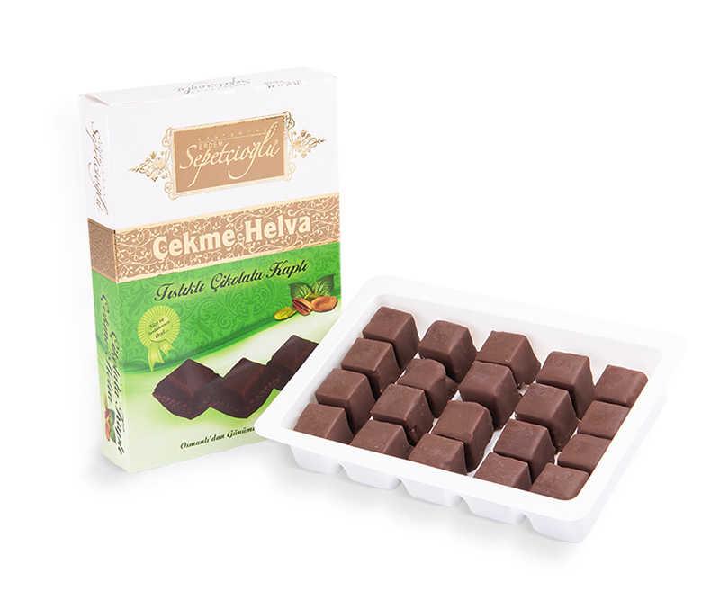 Helva Fıstıklı Çikolatalı Çekme 175 Gr