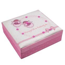 Hoşgeldin Bebeğim Pembe Kare Kutu Special 430 g - Thumbnail