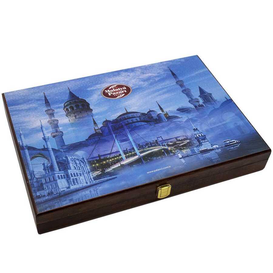 Mavi İstanbul Temalı Kutu Special 2000 G