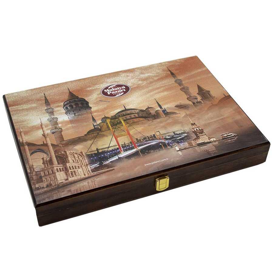 Kahverengi İstanbul Temalı Kutu Special 2000 G