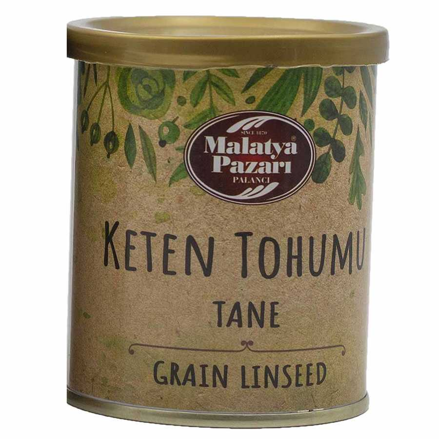 Keten Tohumu Tane Teneke 100 g
