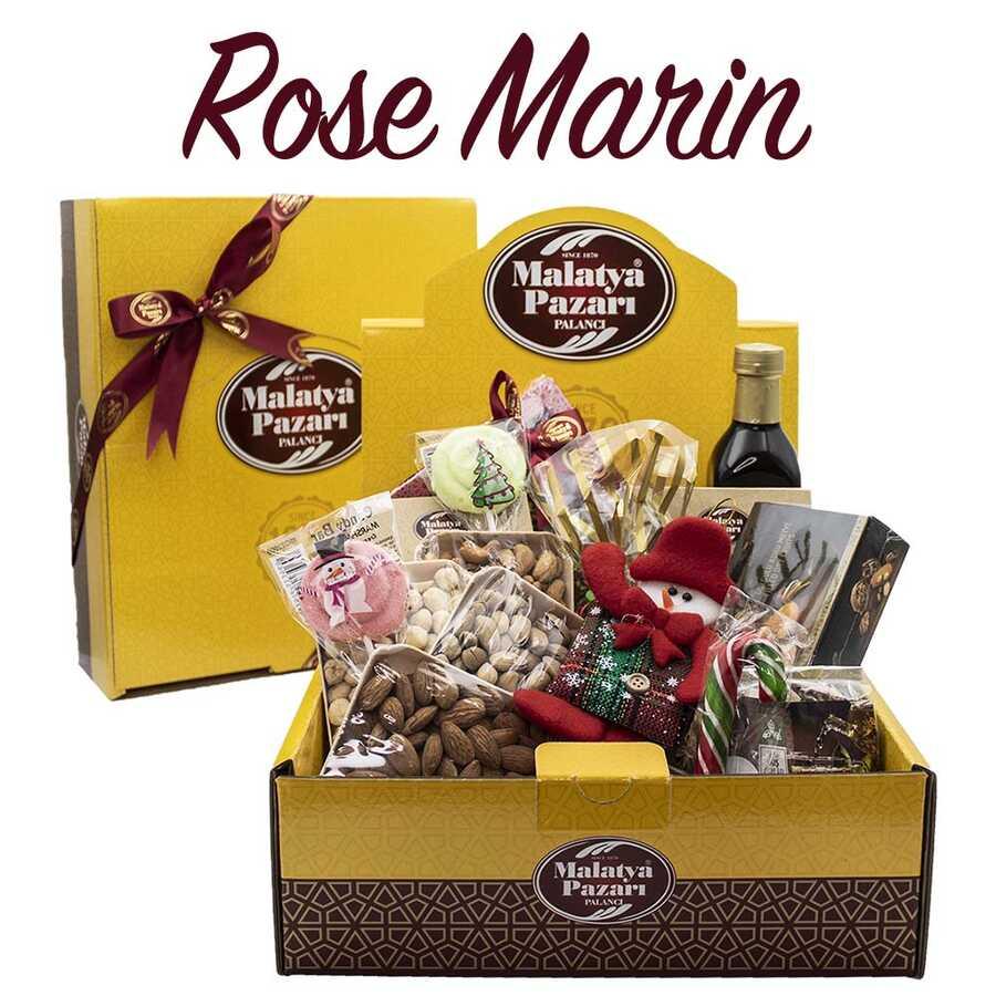 Rose Marin Yılbaşı Hediyelik Kutu