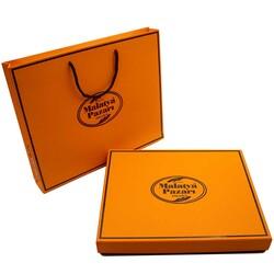 Turuncu Kutu Fıstıklı Lokum 1100 g - Thumbnail